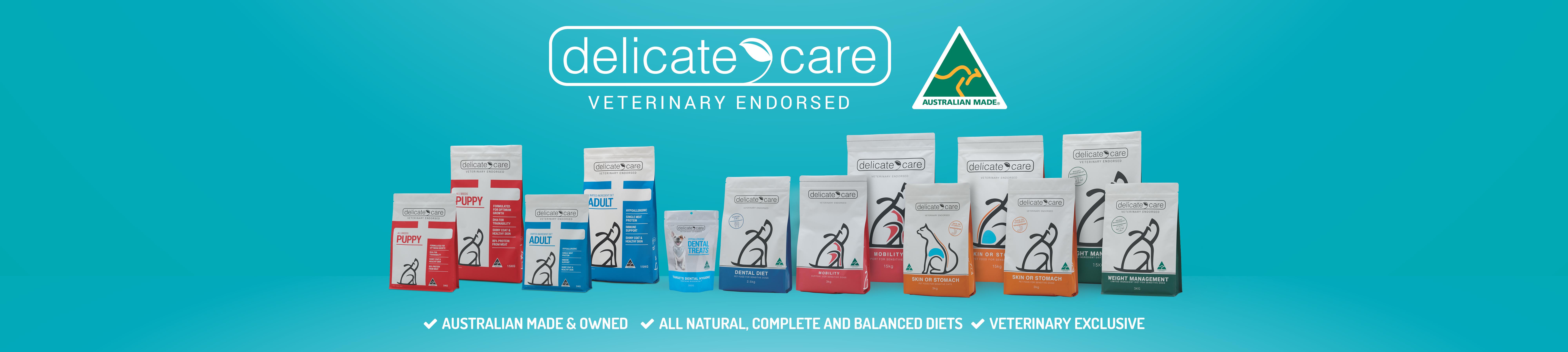 Cenvet Delicate Care Banner